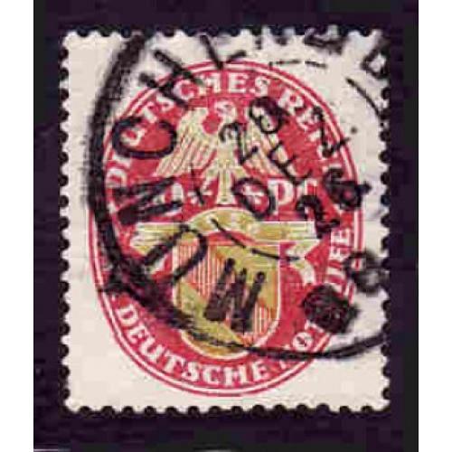 German Used Scott #B16 Catalog Value $3.00