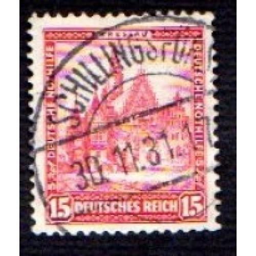 German Used Scott #B39 Catalog Value $1.20