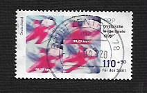 German Used Scott #B828 Catalog Value $2.25