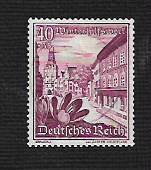 German Used Scott #B131 Catalog Value $8.00