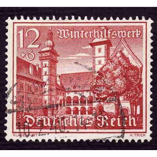 German Used Scott #B165 Catalog Value $.80
