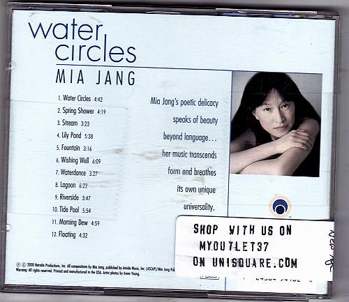 Water Circles by Mia Jang CD 2000 - Good