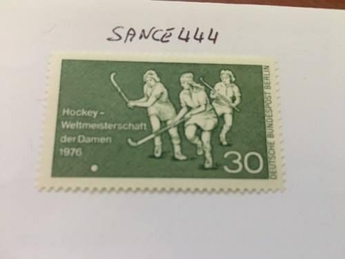 Berlin Hockey games mnh 1976