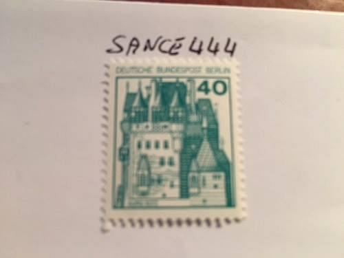 Berlin Castle 40p mnh 1977