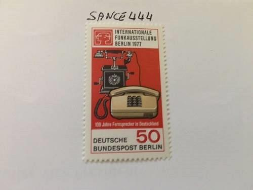 Berlin Radiotelevision exposition mnh 1977