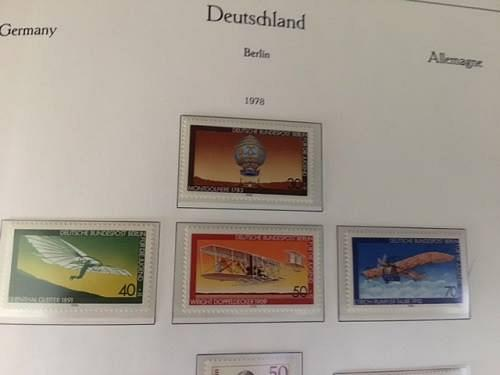 Berlin Youth Aviation mnh 1978