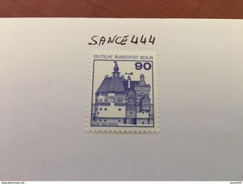 Berlin Definitives Castles 90p mnh 1978