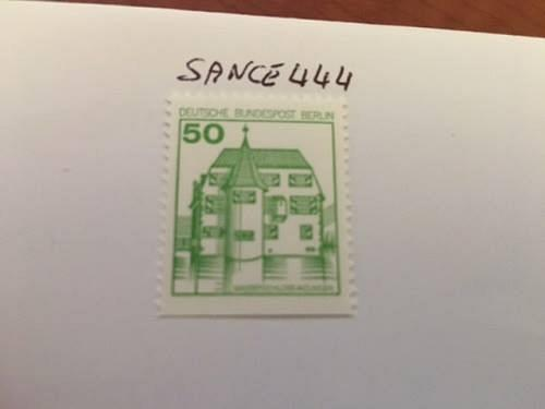 Berlin Definitives Castles 50p imperf. bottom mnh 1978