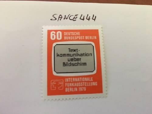 Berlin Radio television exposition mnh 1979