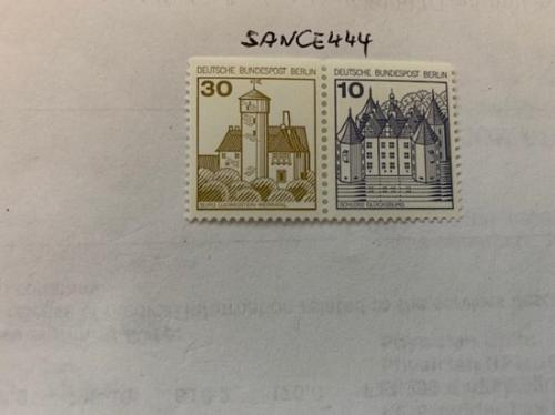 Berlin Castle 30+10p top imperf. dual mnh 1980