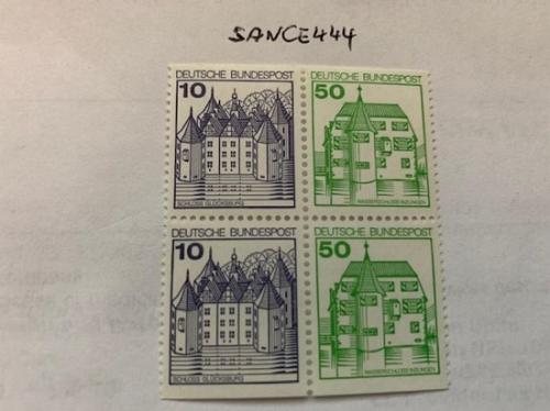 Berlin Castle 10+50p imperf. block 1980 mnh