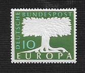 German MNH Scott #771 Catalog Value $.40