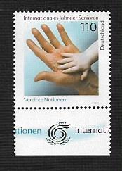 German MNH Scott #2025 Catalog Value $1.30