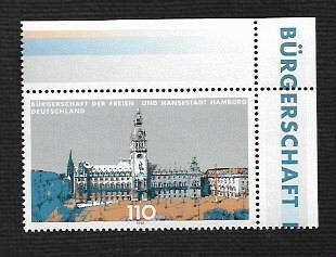 German MNH Scott #2029 Catalog Value $1.30