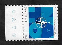 German MNH Scott #2032 Catalog Value $1.30