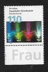 German MNH Scott #2033 Catalog Value $1.30