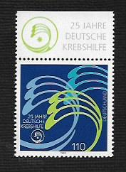 German MNH Scott #2036 Catalog Value $1.30