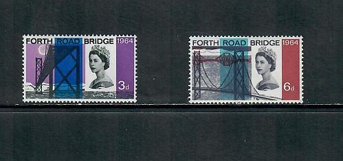 1964 COMMEMORATIVE SET FORTH BRTDGE ISSUE, USED 170519
