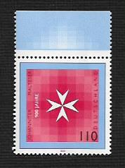 German MNH Scott #2037 Catalog Value $1.30
