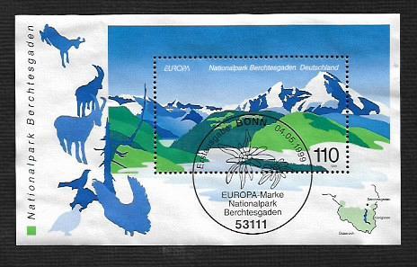 German Used Scott #2040 Catalog Value $3.00