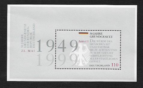 German MNH Scott #2041 Catalog Value $2.00