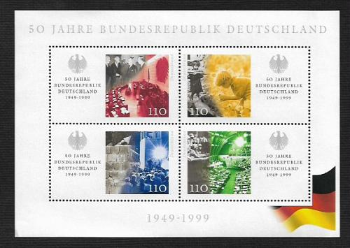 German MNH Scott #2042 Catalog Value $6.50