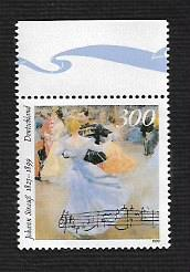 German MNH Scott #2045 Catalog Value $3.50
