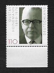 German MNH Scott #2047 Catalog Value $1.30