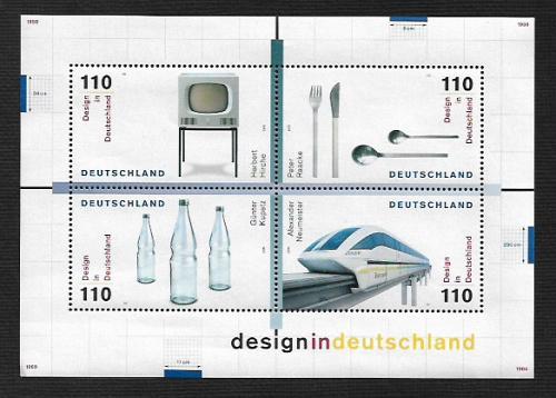 German MNH Scott #2051 Catalog Value $6.50