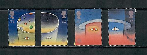 1991 COMMEMORATIVE SET ,SPACE, USED 260519