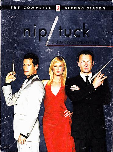 Nip/Tuck - Complete Season 2 DVD 2005, 6-Disc Set - Very Good