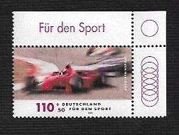 German MNH Scott #B845 Catalog Value $1.75