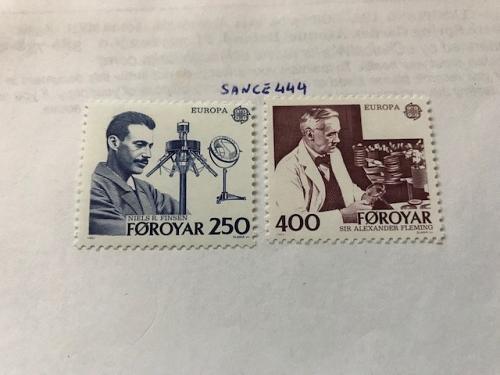 Faroe Islands Europa 1983 mnh