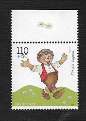 German MNH Scott #B852 Catalog Value $1.75