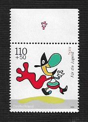 German MNH Scott #B853 Catalog Value $1.75