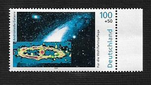 German MNH Scott #B855 Catalog Value $1.45