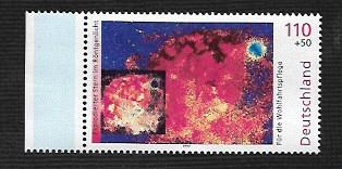 German MNH Scott #B857 Catalog Value $1.60