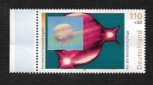 German MNH Scott #B858 Catalog Value $1.60