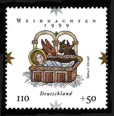 German MNH Scott #B861 Catalog Value $1.50