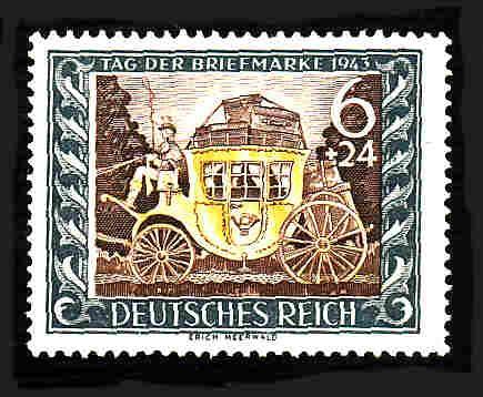 German MNH Scott #B215 Catalog Value $.95