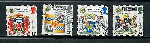 1987 COMMEMORATIVE SET ,ORDER OF THE THISTLE, USED 260519