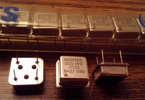 Lot of 20: CTS MXO45HS 20.0 MHz Oscillators :: FREE Shipping