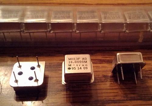 Lots of 25: M-tron MH13FAD 16.0000 MHz Half-Size Oscillators :: FREE Shipping