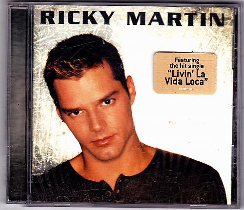 Ricky Martin by Ricky Martin CD 1999 - Very Good