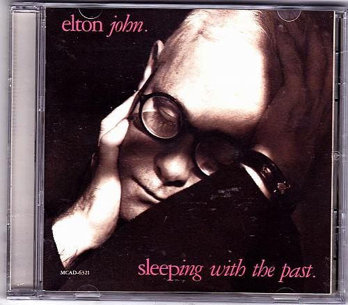 Sleeping with the Past by Elton John CD 1989 - Very Good