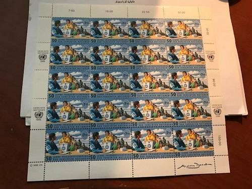 United Nations Wien Peace s7.50 m/s 1998 mnh