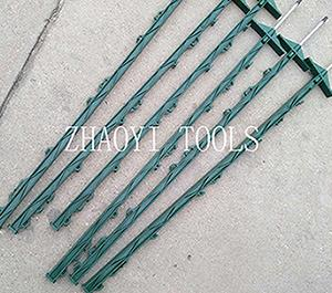 portable step-in treading-in paddock pasture fencing posts accessories