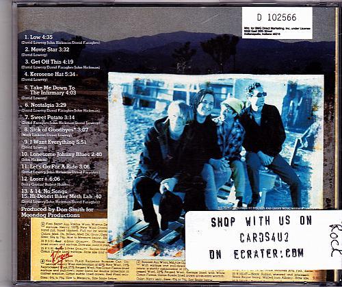 Kerosene Hat by Cracker CD 1993 - Very Good