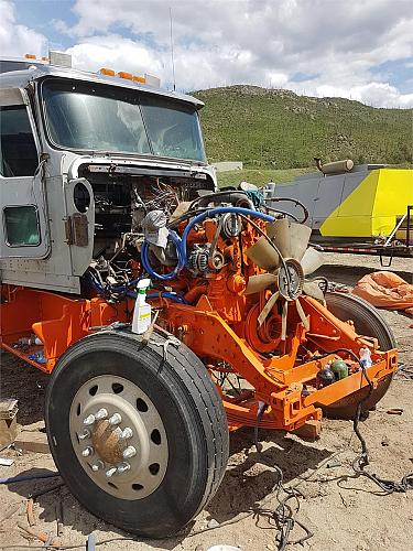 2003 Kenworth W900L Semi Tractor