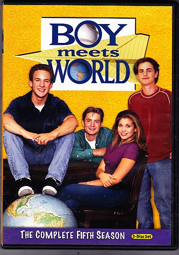 Boy Meets World - Complete Season 5 DVD 2011, 3-Disc Set - Very Good